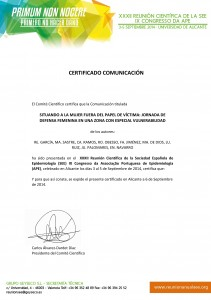 certificado universidad alicante
